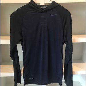 Nike Dri-fit Long Sleeve Hoodie ! Awesome ! S, 🔥